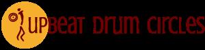 Upbeat Drum Circles Logo