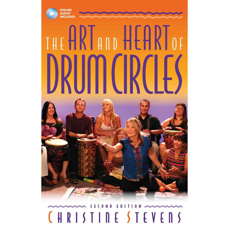 Upbeat Drum Circles Art and Heart of Drum Circles DVD Cover