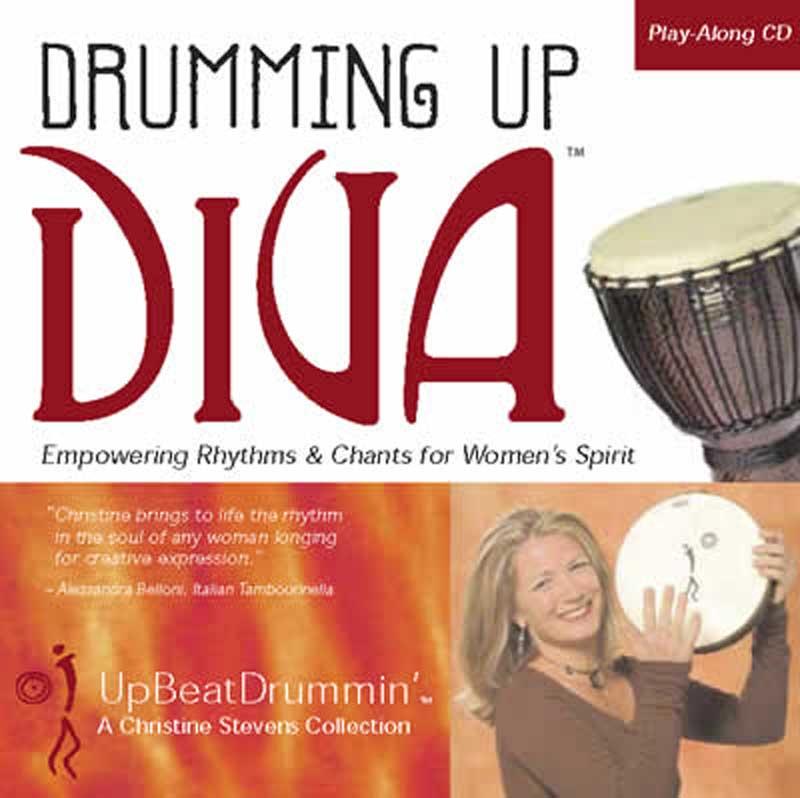 Drumming Up Diva CD - Upbeat Drum Circles